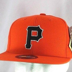 Pittsburgh Pirates Orange Baseball Cap Snapback